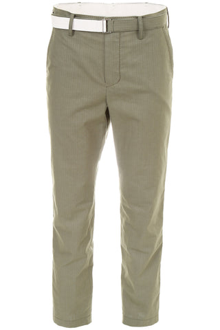 Sacai Casual Khaki Trousers