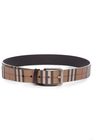 Burberry Classic Vintage Check Belt