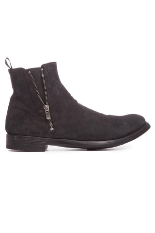 Officine Creative Zipped Round Toe Boots
