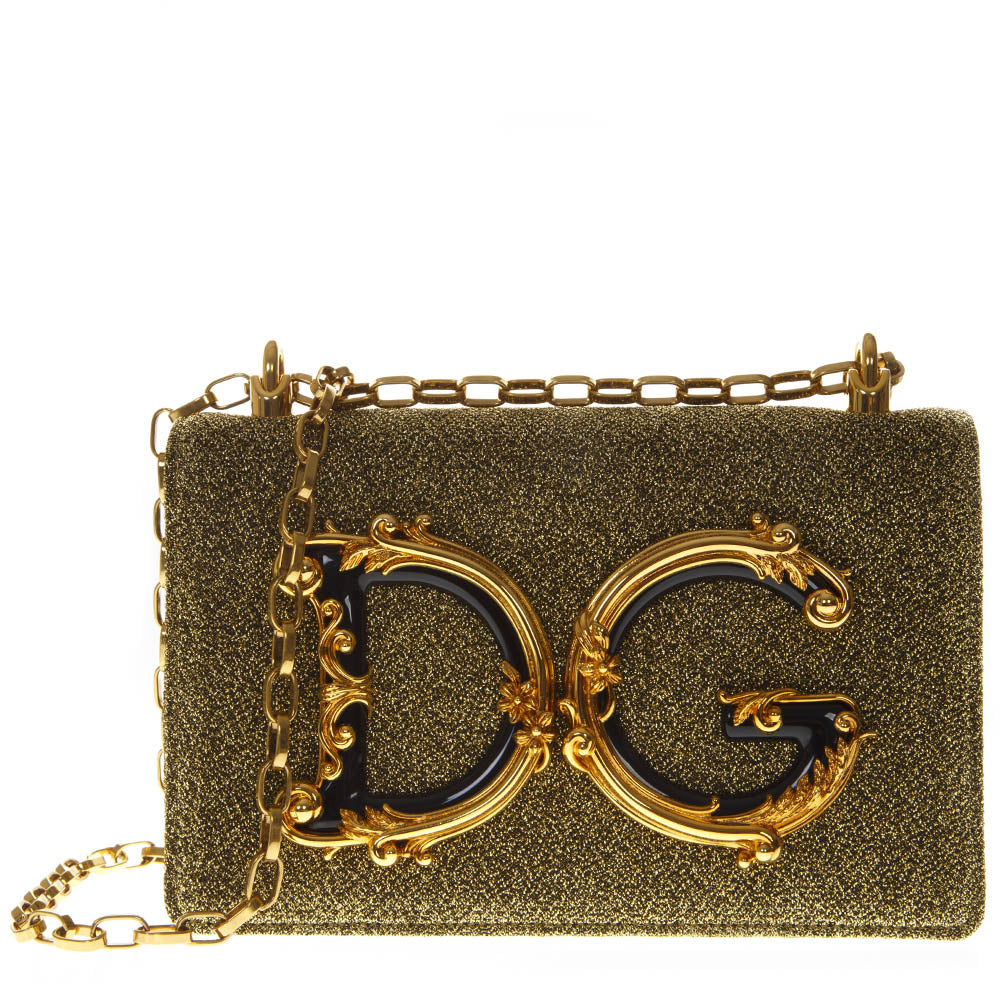 Dolce   Gabbana Flower Logo Shoulder Bag – Cettire dcfc7089a6608