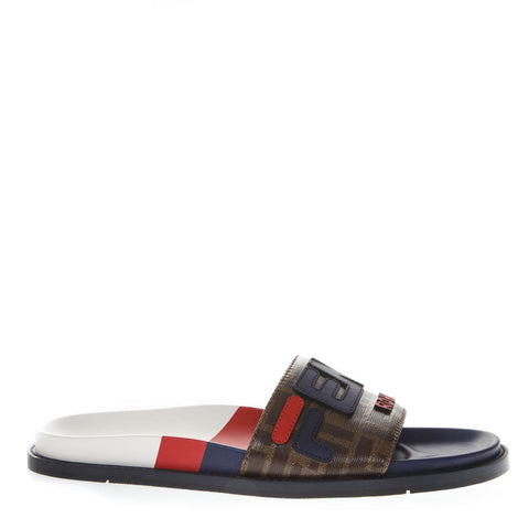 Fendi Mania Rubber Sandals