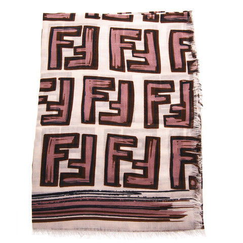 Fendi FF All Over Logo Scarf