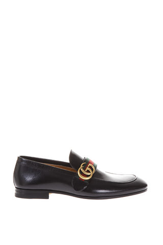 Gucci GG Buckle Loafers