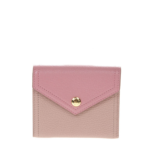 Miu Miu Two-Tone Fold-Over Wallet