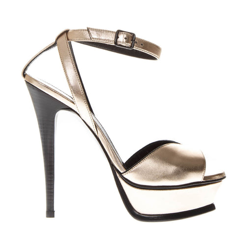 Saint Laurent Strap Buckle Pumps