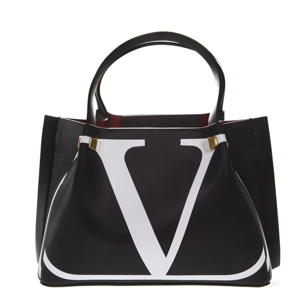 cb7b1451702 Valentino Go Logo Escape Tote Bag in Black