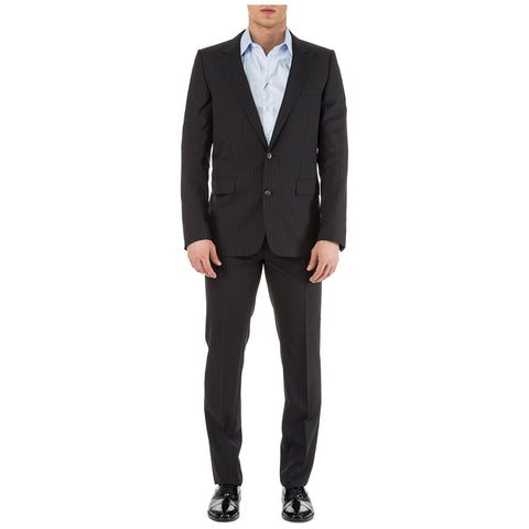 Dior Homme Two Piece Pinstriped Suit