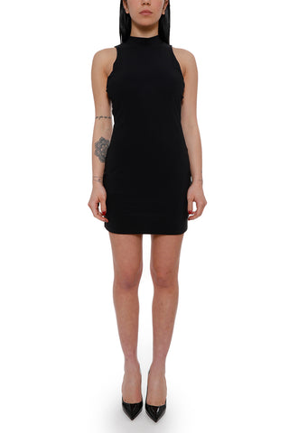 T By Alexander Wang Side Lace-Up Detail Mini Dress