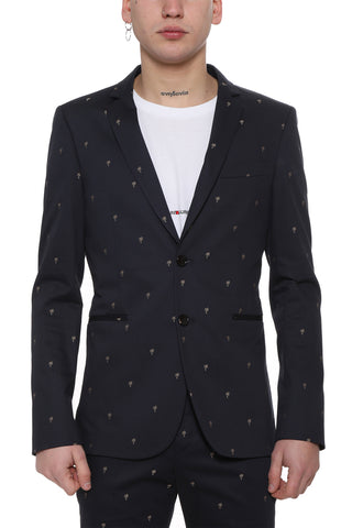 Paul Smith Palm Tree Patterned Blazer