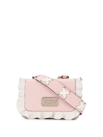 Red Valentino Ruffled Crossbody Bag