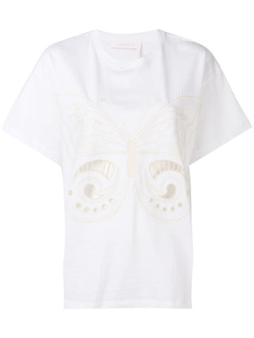 See By Chloé Embroidered T-Shirt