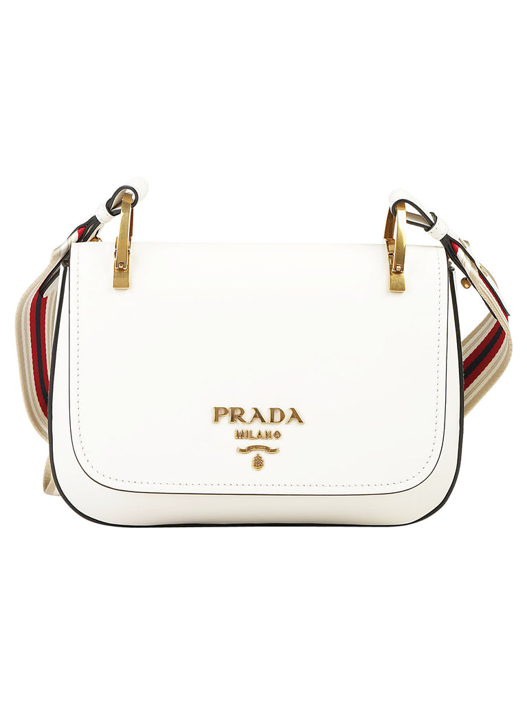 9e30084c09f3 Prada Striped Strap Shoulder Bag – Cettire