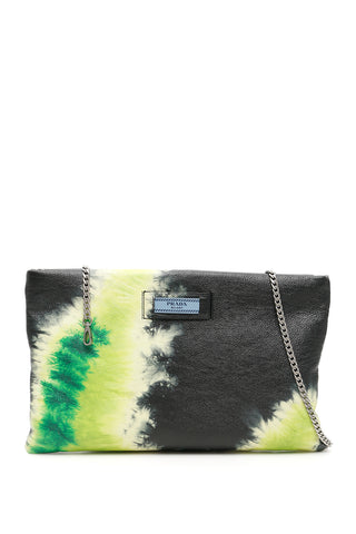 Prada Tie Dye Clutch Bag