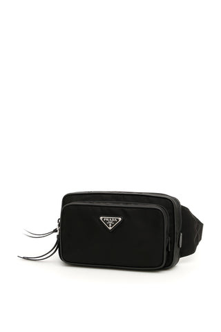 Prada Logo Plaque Belt Bag