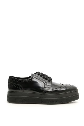 Prada Platform Derby Shoes