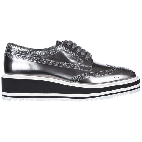 Prada Lace Up Brogue Style Shoes