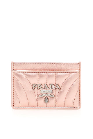 Prada Leather Quilted Cardholder