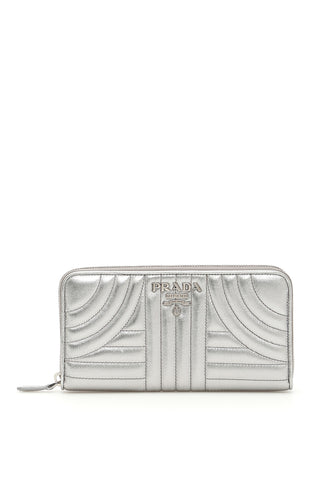 Prada Diagramme Zip Wallet