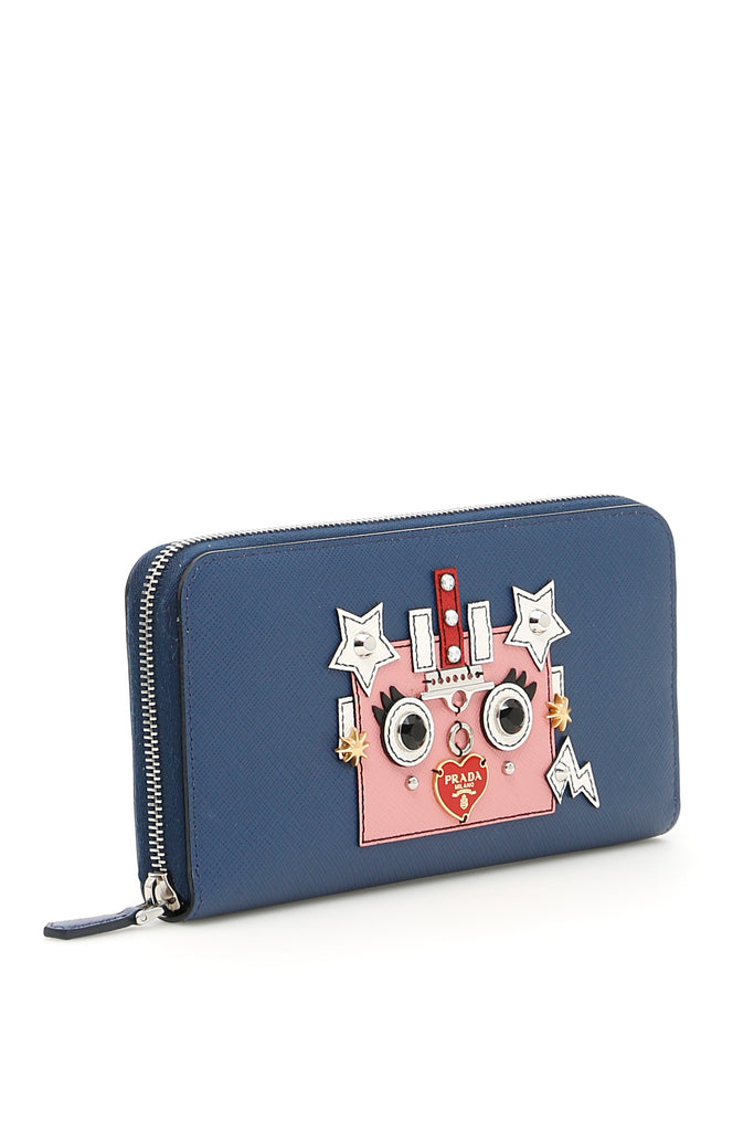 b5372f67cfa5 Prada Robot Patch Wallet – Cettire