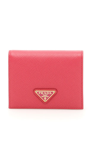 Prada Leather Saffiano Wallet