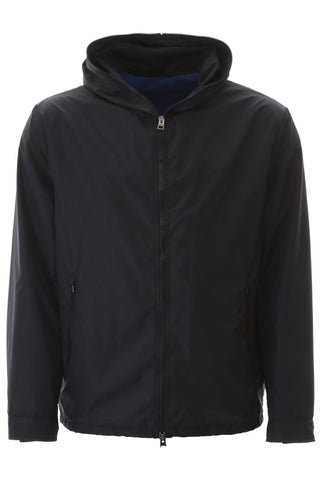 Etro Back Logo Hooded Jacket