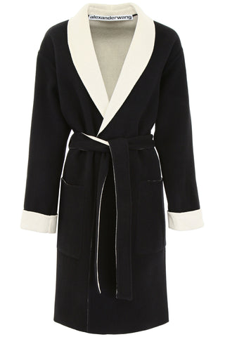 Alexander Wang Logo Wrap Coat