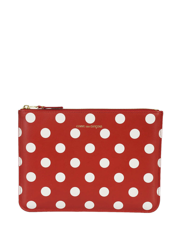 Cheap Low Shipping Fee Polka Dot Clutch - Only One Size / Red Comme Des Garçons Cheapest For Sale Lowest Price Sale Online Cheap Online 96etA