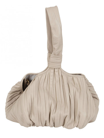 Max Mara Ketty Pleated Tote Bag