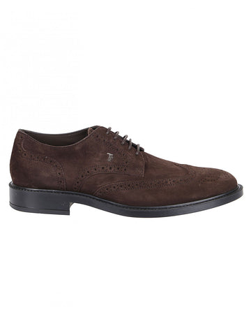 Tod's Perforated Lace-Up Shoes