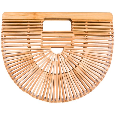 Cult Gaia Ark Small Bamboo Tote Bag