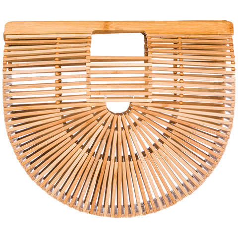 Cult Gaia Ark Large Bamboo Tote Bag
