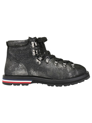 Moncler Blanche High Top Lace Up Shoes