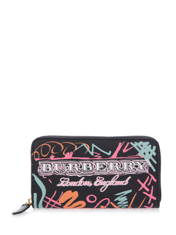 Burberry Printed Logo Wallet