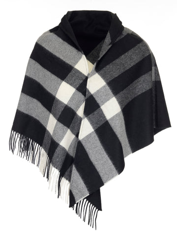 Burberry Check Cashmere Shawl