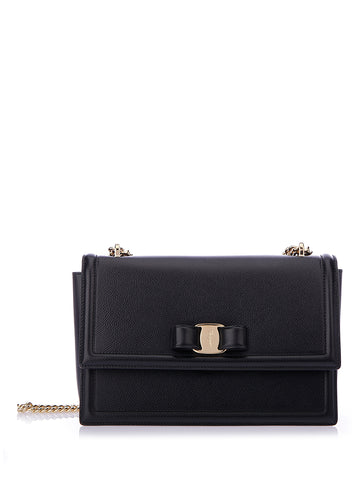 Salvatore Ferragamo Medium Vara Bow Shoulder Bag