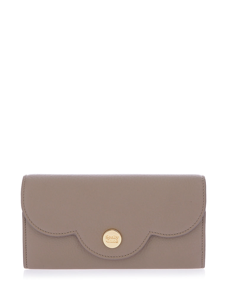 c3f0c535f7 See By Chloé Long Polina Flap Wallet