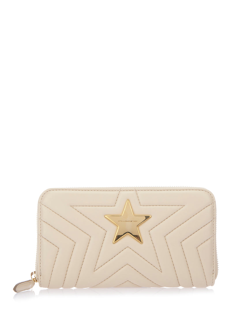 STELLA MCCARTNEY STAR QUILTED WALLET