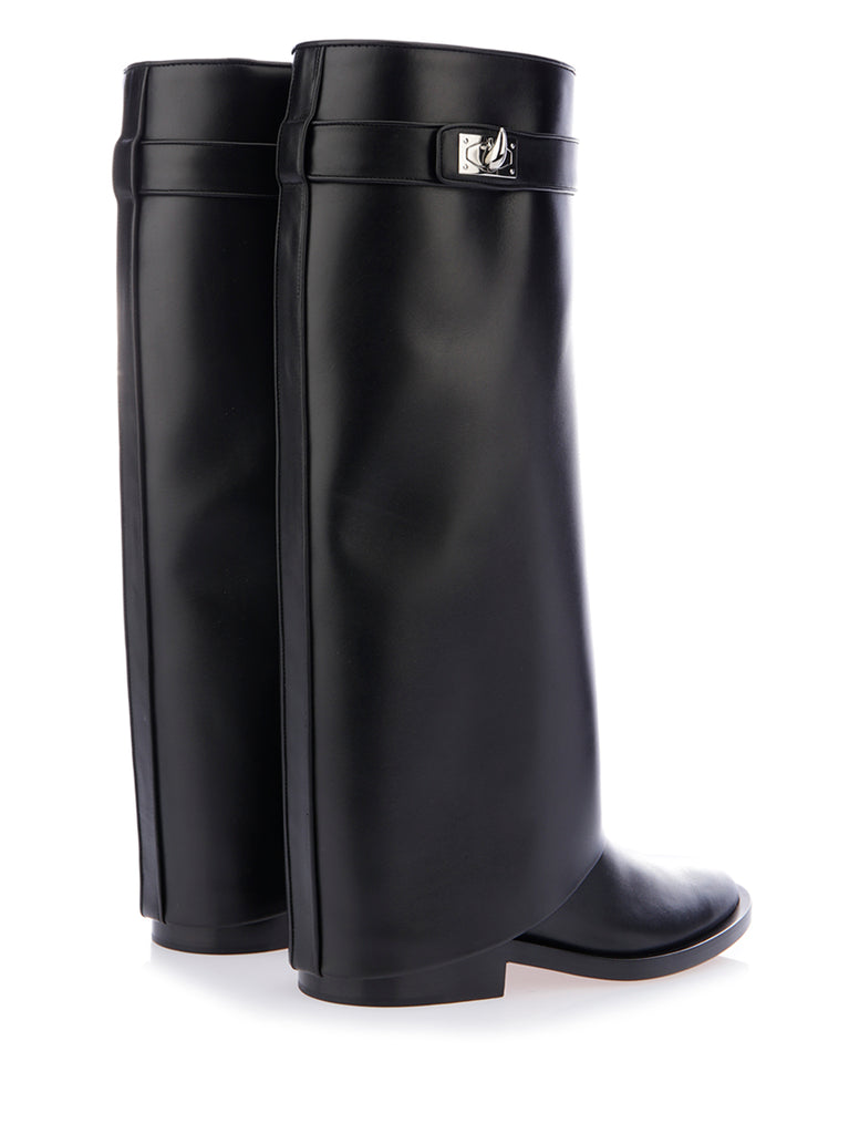 Shark Leather Boots - IT36 / Black Givenchy 3byZU9gWdO