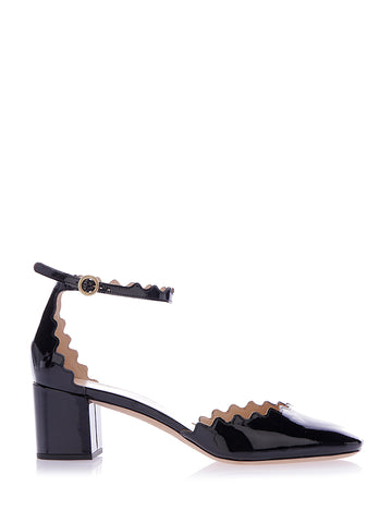 Chloé Lauren Patent Leather Mary Janes