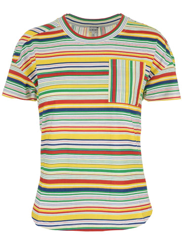 Loewe Striped Pocket T-Shirt