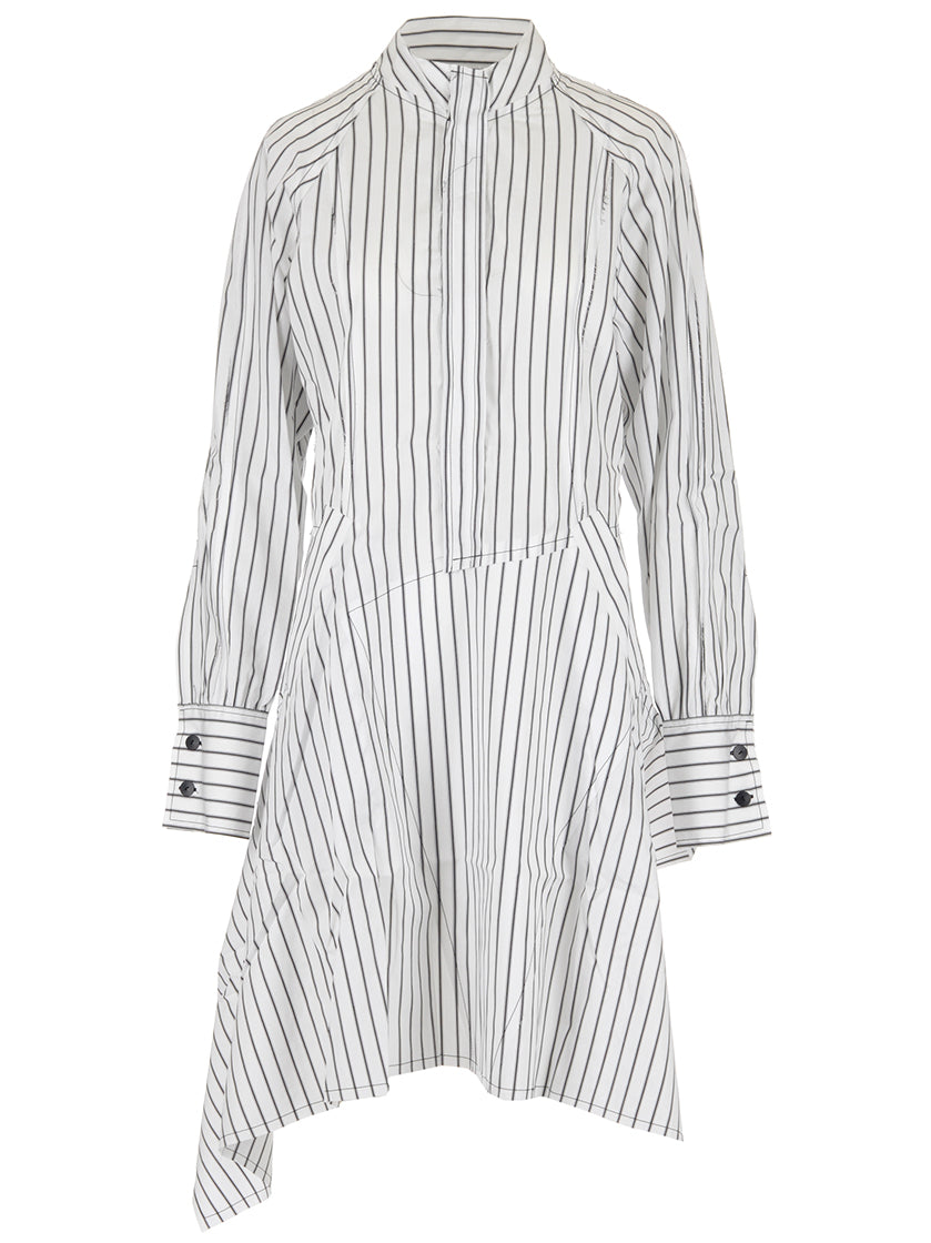 JW ANDERSON ASSYMETRIC SHIRT DRESS