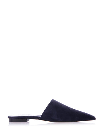 Rebecca Minkoff Pointed Suede Slippers