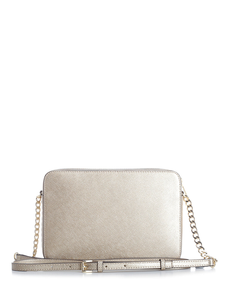 3b606f5b8a700 Michael Michael Kors Jet Set Travel Large Crossbody Bag – Cettire