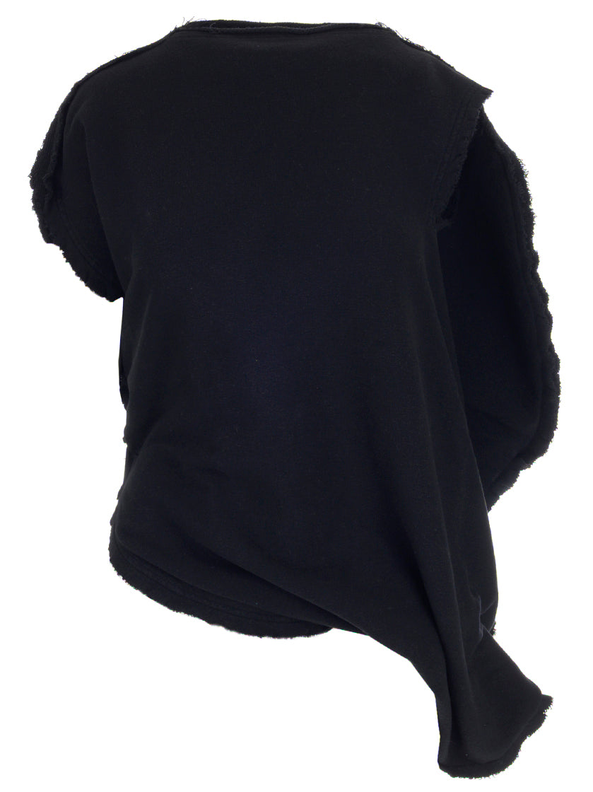 JW ANDERSON ASYMMETRIC RAW EDGE TOP