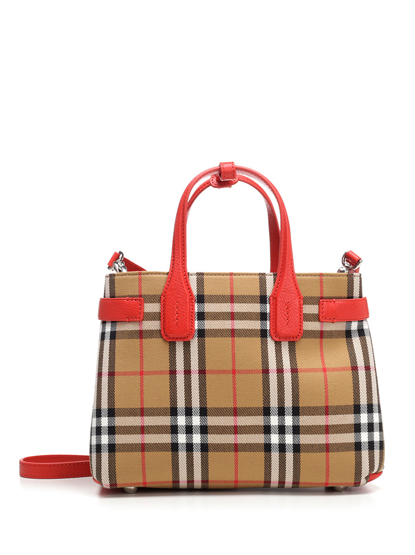 BURBERRY THE BANNER TOTE BAG