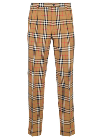 Burberry Checked Trousers