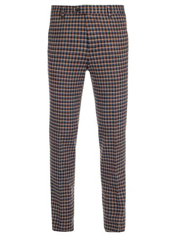Missoni Checked Straight Legged Trousers