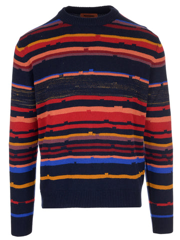 Missoni Striped Long Sleeve Sweater