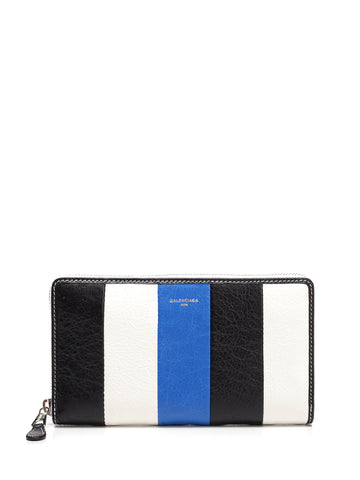 Balenciaga Striped Wallet