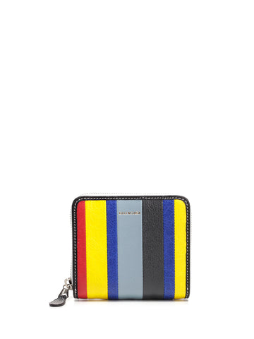 Balenciaga Small Striped Wallet